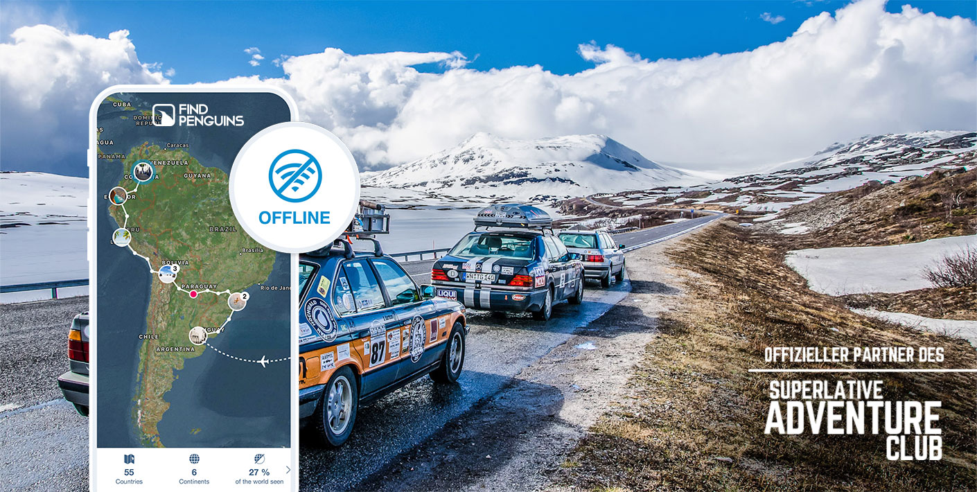 Offizieller Partner des Superlativ Adventures Club