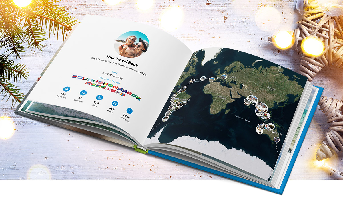FindPenguins Travel Photo Book